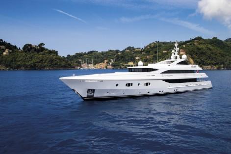 M/Y TURQUOISE Luxury yacht for charter Monaco