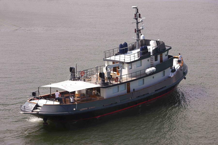 Tug Vervece yacht for charter and for sale Monaco