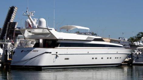 MY Lunasea yacht
